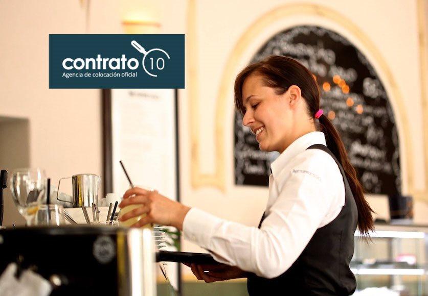 Contrato10 selecciona 15 puestos para importante firma de hostelería a nivel nacional
