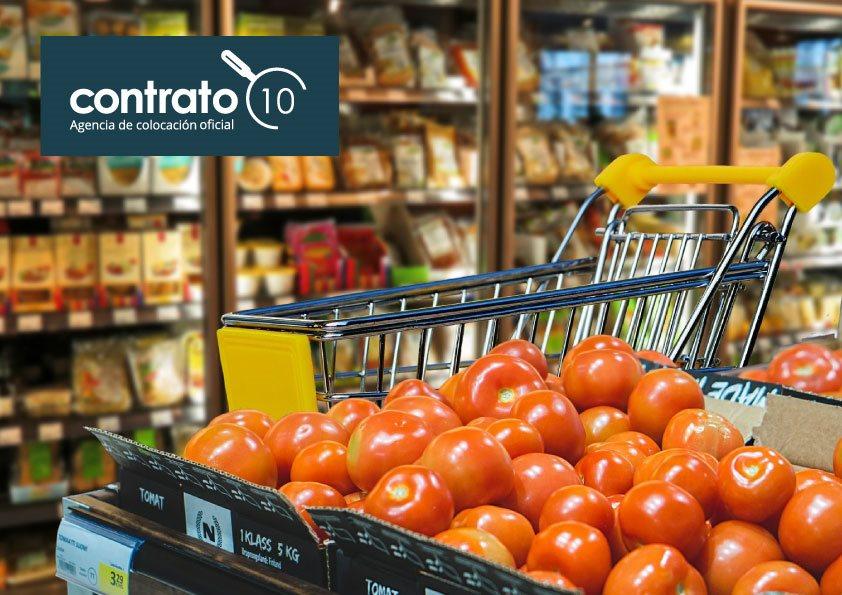 Contrato10 selecciona más de 50 puestos a nivel nacional para una importante cadena de supermercados